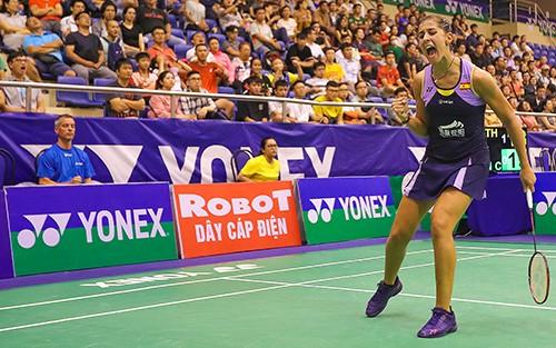 Giải cầu lông Việt Nam Open 2019:  Tay vợt Carolina María thua thảm vì khinh địch ảnh 4