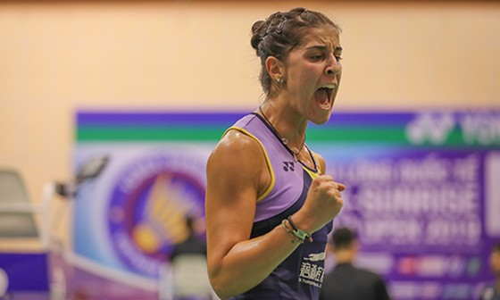 Giải cầu lông Việt Nam Open 2019:  Tay vợt Carolina María thua thảm vì khinh địch ảnh 7