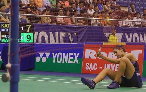 Giải cầu lông Việt Nam Open 2019:  Tay vợt Carolina María thua thảm vì khinh địch ảnh 9