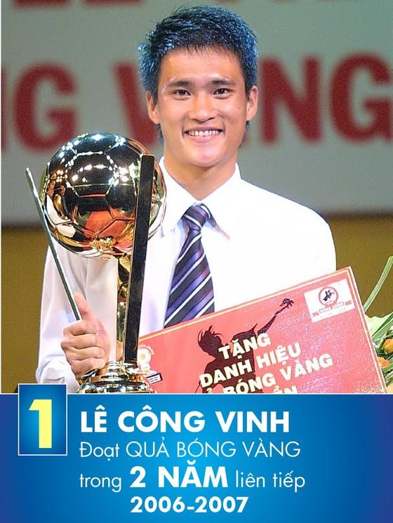Những kỷ lục gia của giải thưởng Quả bóng vàng Việt Nam ảnh 2