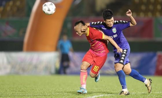 Đông Triều có trận ra mắt trong thành phần đội bóng đất Thủ. Ảnh: DŨNG PHƯƠNG
