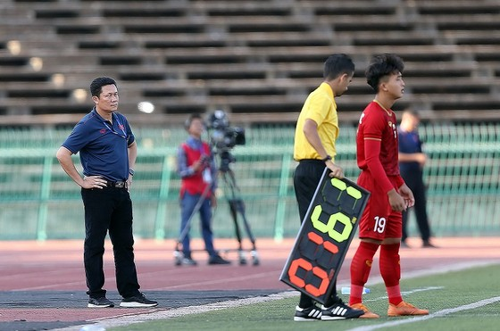 Cả 2 lần thay người của HLV Quốc Tuấn đều đem lại bàn thắng. Ảnh: Dũng Phương