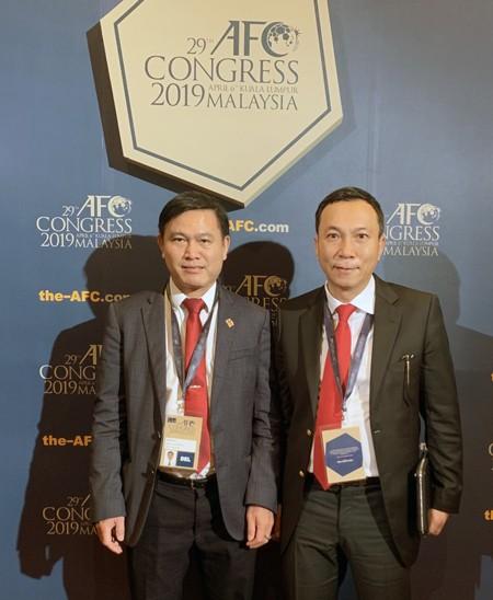 Phó chủ tịch VFF Trần Quốc Tuấn tái đắc cử vào Ban thường vụ AFC ảnh 2
