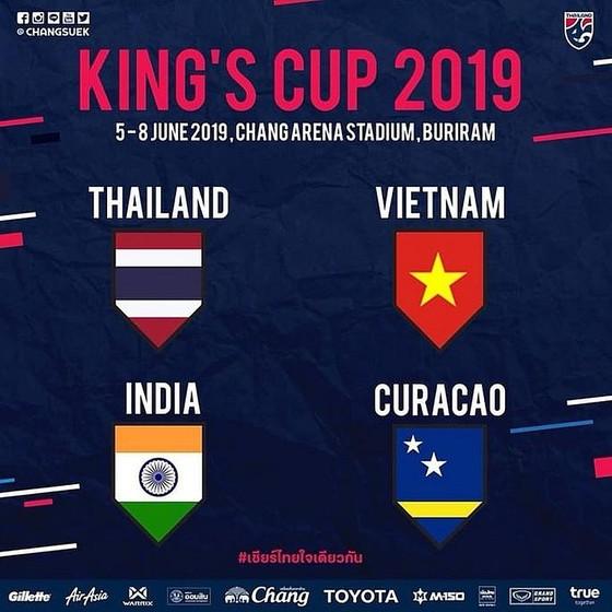 Thái Lan chốt danh sách chính thức dự King's Cup 2019 ảnh 1