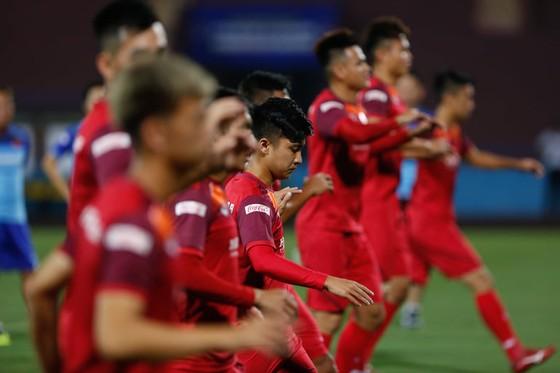 U23 Việt Nam đã sẵn sàng cho trận đấu với Myanmar. Ảnh: MINH HOÀNG