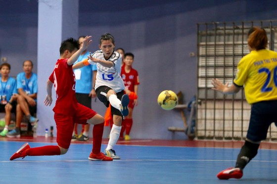 Đội nữ Thái Sơn Nam Quận 8 vô địch giải futsal TPHCM mở rộng 2019 ảnh 2