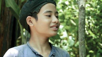 Hình Ảnh Kim Đồng Trong Phim Qua Sự Hóa Thân Của Em Đào Bá Huy.