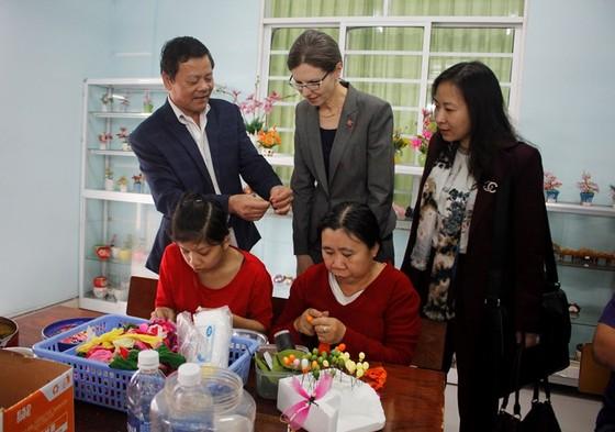 Khánh thành phòng học cho nạn nhân chất độc da cam tại Đà Nẵng ảnh 1