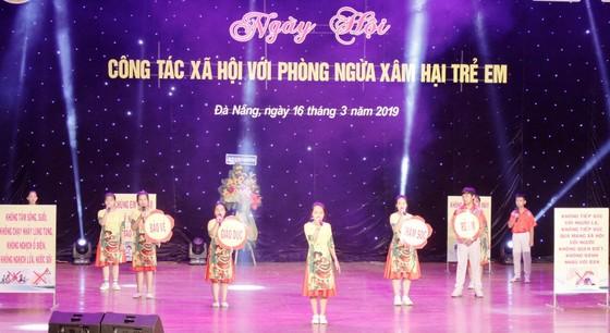 """Đà Nẵng: Gần 800 học sinh tham gia """"Công tác xã hội phòng ngừa xâm hại trẻ em"""" ảnh 1"""