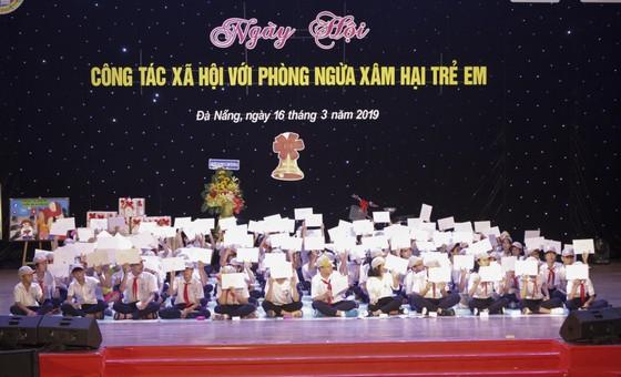 """Đà Nẵng: Gần 800 học sinh tham gia """"Công tác xã hội phòng ngừa xâm hại trẻ em"""" ảnh 2"""