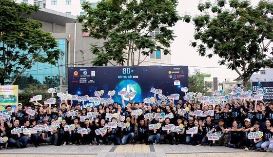 Đà Nẵng: Gần 500 bạn trẻ và người dân tham gia mít tinh hưởng ứng Giờ Trái đất 2019 ảnh 1