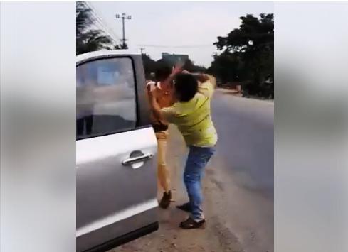 Gia Lai: Cảnh sát giao thông bị hành hung  ảnh 1