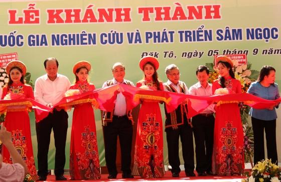 Thủ tướng Nguyễn Xuân Phúc dự khánh thành trung tâm nghiên cứu sâm Ngọc Linh ảnh 1