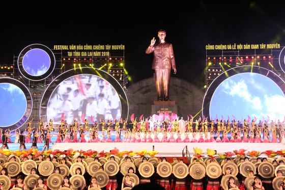 Khai mạc Festival văn hóa cồng chiêng Tây Nguyên   ảnh 1