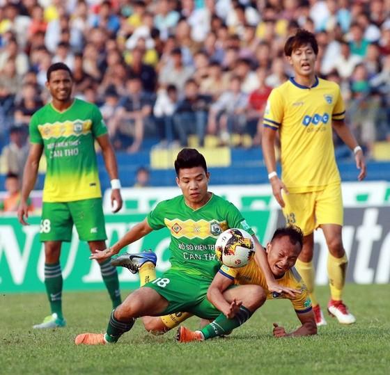 Nuti Cafe V-League 2018: Cần Thơ lấy điểm ấn tượng ở xứ Thanh ảnh 1