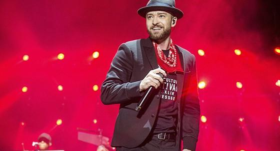 Justin Timberlake cổ vũ Tam sư từ trước thềm bán kết. Ảnh: Sputnik