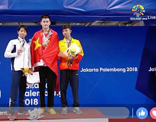 Bơi lội: Đoạt HCĐ 800m tự do, Nguyễn Huy Hoàng phá sâu kỷ lục quốc gia ảnh 2