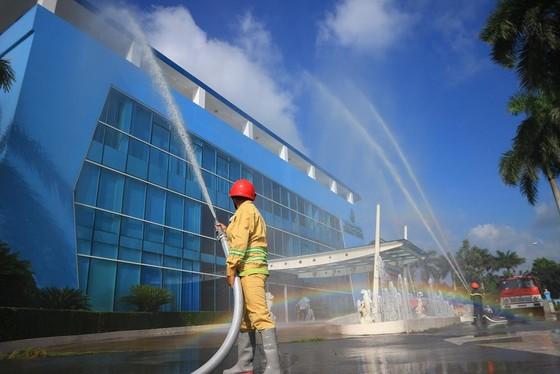 VWS diễn tập chữa cháy 2019 ảnh 1