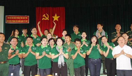 Nhiều hoạt động hướng về biên cương Tổ quốc tại huyện Ngọc Hồi, tỉnh Kon Tum  ảnh 5