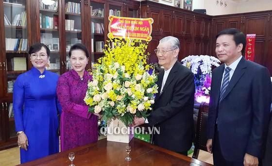 Lãnh đạo TPHCM chúc mừng Giáng sinh Tòa Tổng Giám mục Tổng Giáo phận TPHCM     ảnh 2