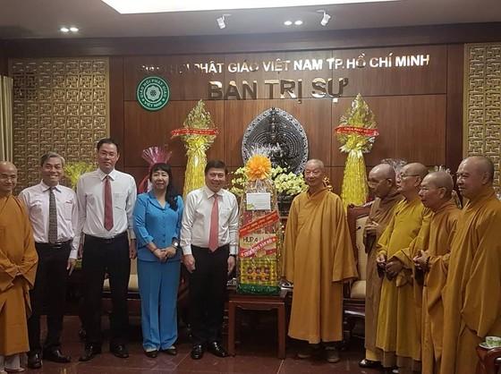 Lãnh đạo TPHCM thăm, chúc tết các tổ chức tôn giáo ảnh 1