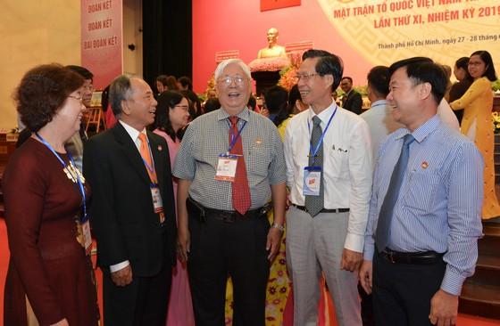 Bế mạc Đại hội đại biểu MTTQ Việt Nam TPHCM lần thứ XI, nhiệm kỳ 2019-2024 ảnh 4