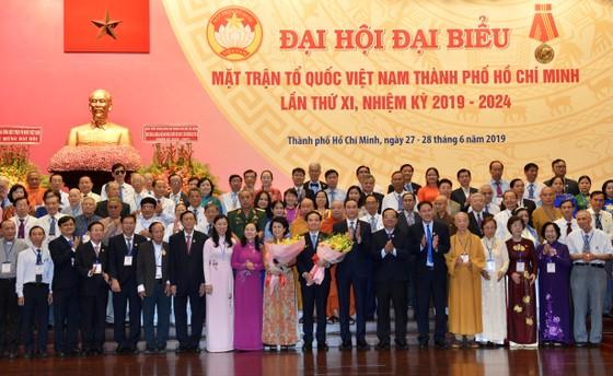 Bế mạc Đại hội đại biểu MTTQ Việt Nam TPHCM lần thứ XI, nhiệm kỳ 2019-2024 ảnh 2