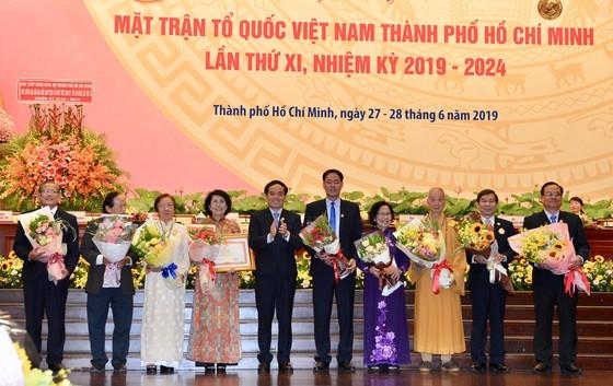 Bế mạc Đại hội đại biểu MTTQ Việt Nam TPHCM lần thứ XI, nhiệm kỳ 2019-2024 ảnh 3