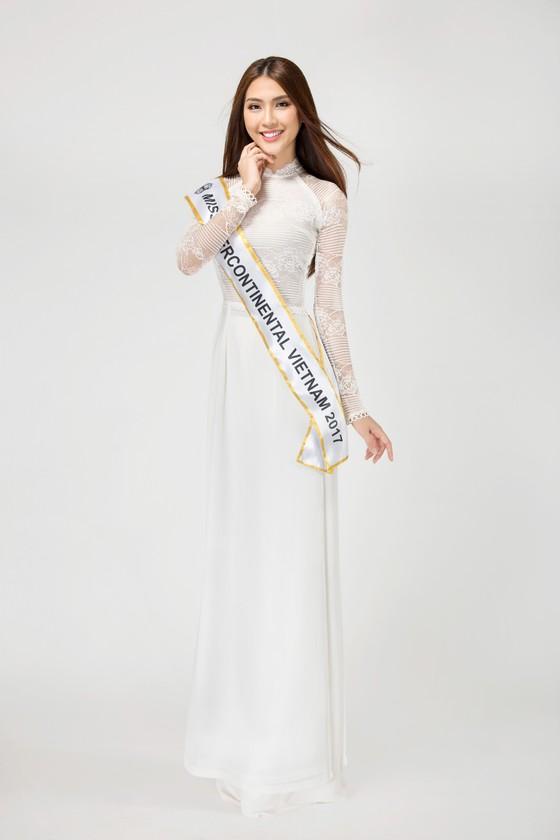 Á quân The Face 2017 Tường Linh đại diện Việt Nam tham dự Miss Intercontinental 2017 ảnh 3