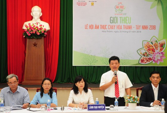 Martin Yan tham gia lễ hội ẩm thực chay lần đầu tổ chức tại Tây Ninh ảnh 1