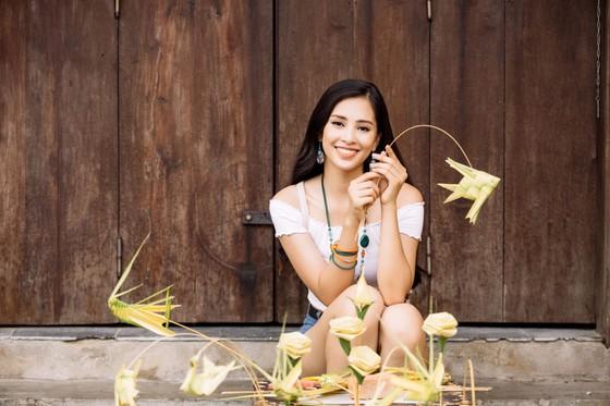 Hoa hậu Tiểu Vy mang hình ảnh Hội An đến Miss World ảnh 6