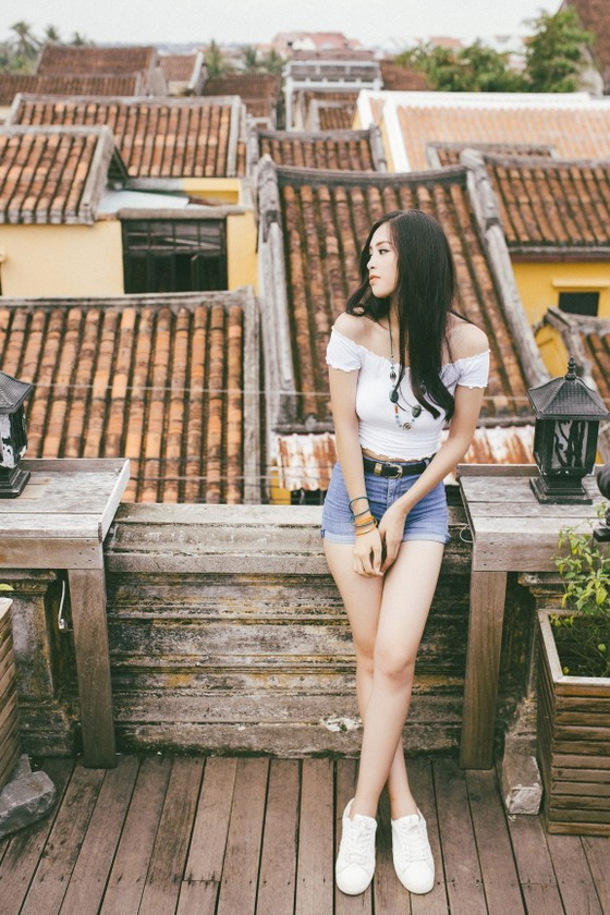 Hoa hậu Tiểu Vy mang hình ảnh Hội An đến Miss World ảnh 4
