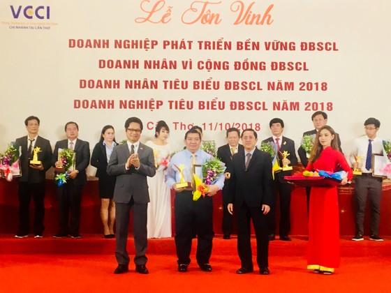 Tôn vinh 131 doanh nhân, doanh nghiệp tiêu biểu ĐBSCL ảnh 1
