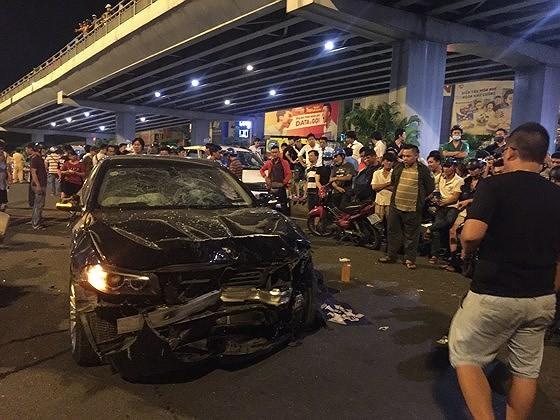 Nữ tài xế BMW gây tai nạn liên hoàn tại ngã tư Hàng Xanh vẫn đang học lái xe, chưa có bằng lái ảnh 2