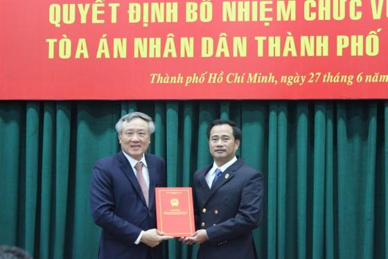 Bổ nhiệm ông Lê Thanh Phong làm Chánh án TAND TPHCM ảnh 1