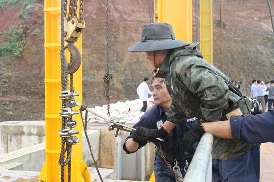 Thủy điện Đắk Kar đã khắc phục được sự cố kẹt van xả ảnh 1
