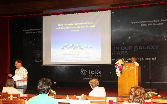 """70 nhà khoa học dự hội thảo khoa học quốc tế """"Chu trình của bụi và khí trong Dải Ngân hà""""   ảnh 3"""