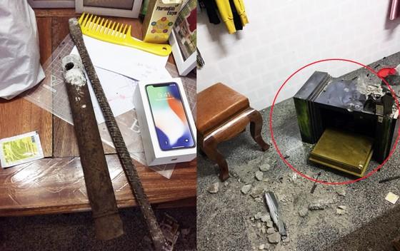 Nhà nữ giám đốc bị trộm đột nhập, phá két lấy đi 9 cây vàng ảnh 2