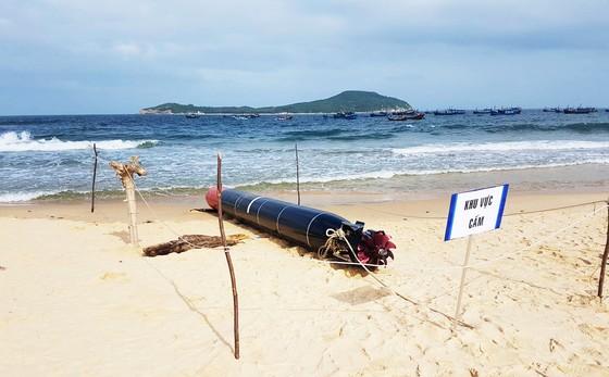 Vật thể lạ mắc lưới ngư dân Phú Yên ảnh 4