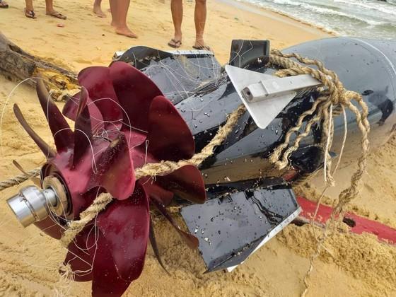 Vật thể lạ mắc lưới ngư dân Phú Yên ảnh 1