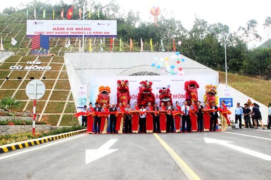 Hầm đường bộ dài thứ 3 cả nước chính thức thông xe ảnh 2