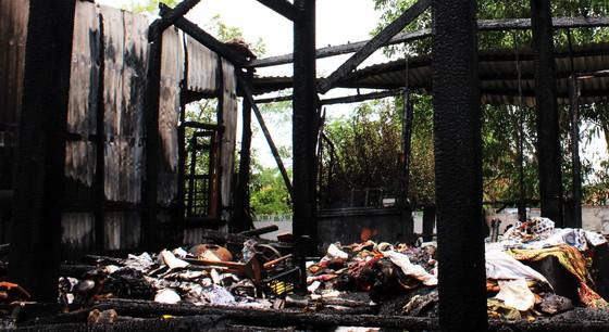Ngôi chùa 55 tuổi ở Phú Yên bị lửa lớn thiêu rụi ảnh 4