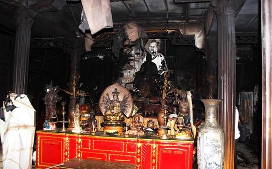 Ngôi chùa 55 tuổi ở Phú Yên bị lửa lớn thiêu rụi ảnh 1