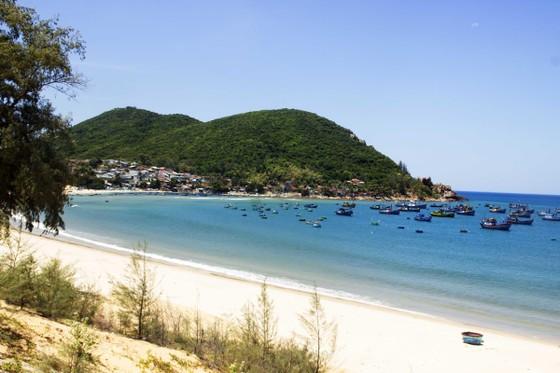 """Cận cảnh bãi biển đẹp như tranh bị """"đầu độc"""" bởi rác thải ảnh 1"""
