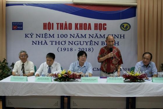 Hội thảo Kỷ niệm 100 năm năm sinh nhà thơ Nguyễn Bính  ảnh 1