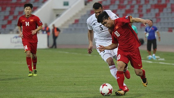 Jordan - Việt Nam 1-1: Việt Nam bất bại vào VCK châu Á