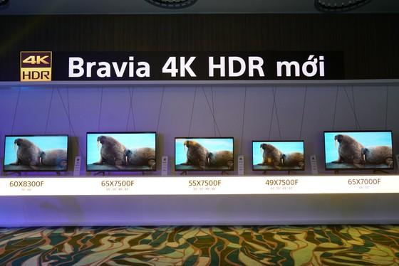 Sony công bố thế hệ TV BRAVIA OLED và 4K HDR mới  ảnh 1