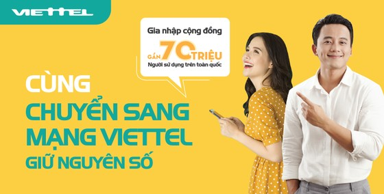 Viettel giúp khách hàng chuyển mạng giữ số tại nhà
