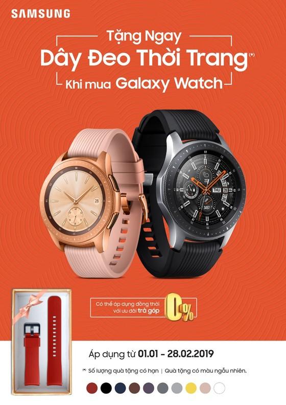 Samsung Galaxy Watch đến Việt Nam