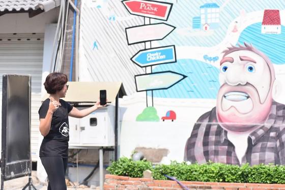 Chạy bộ kết hợp thực tế ảo và văn hóa đường phố  ảnh 1
